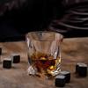 FLOW Barware Twist Whisky Glasses & Stones Gift Box Set