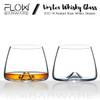Swirl Vortex Crystal Whiskey Glasses Gift Set
