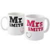 Personalised MR & MRS Mug's