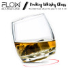 FLOW Rocking Whiskey Glasses