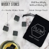 FLOW Barware Whiskey Stones Gift Set
