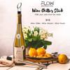 FLOW Barware Wine Chiller Aerator & Pourer Set