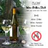 FLOW Barware Wine Cooler Aerator & Pourer Set