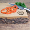 Personalised Rustic Wood Chopping Board