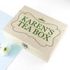 Personalised Pukka Envelope Tea Storage Box