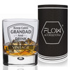 Personalised Grandad Whiskey Glass Gift Set