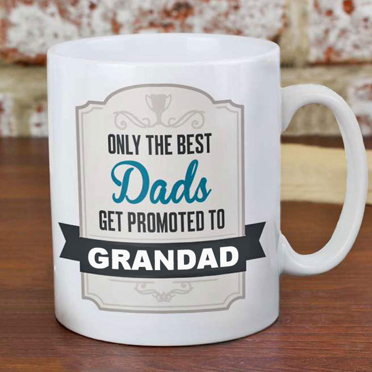 2d49fbe81c5 Personalised Only The Best Dads....Mug