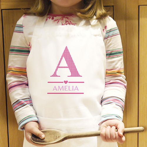 Personalised Girls Apron