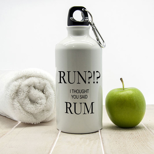 Personalised Reusable Bottle with a Rum Design