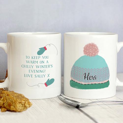 Personalised Mug Set With Hats