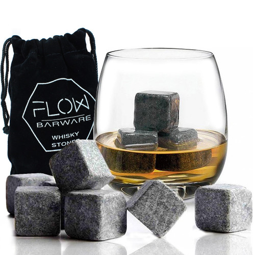 FLOW Barware Whiskey Stones