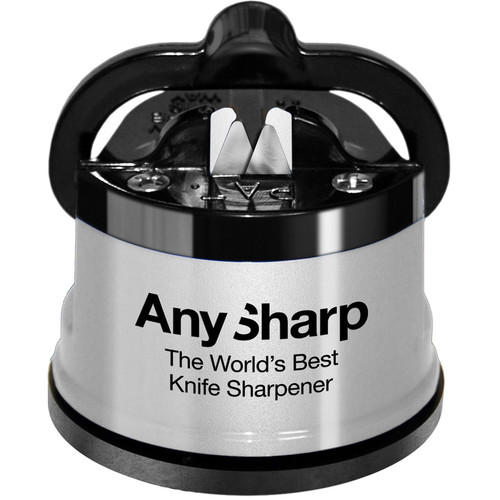 Silver AnySharp Knife Sharpener