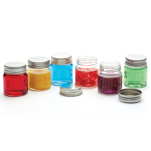 Mini Jar Shot Glasses With Lids