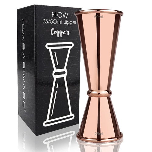 COPPER JAPANESE JIGGER 25 ML & 50 ML FLOW Barware