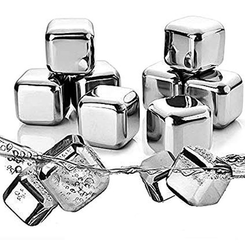 Stainless Steel Whiskey Stones Ice Cubes
