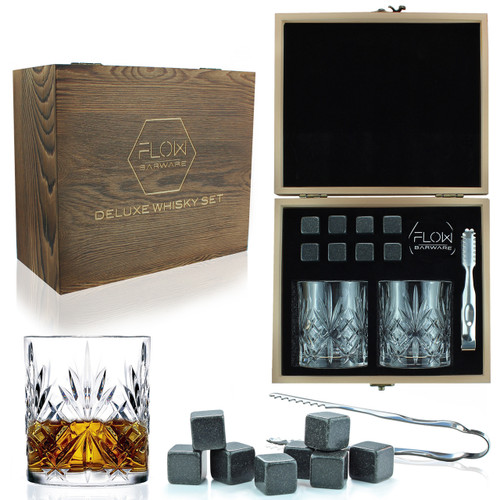 Classic Crystal Whisky Gift Set