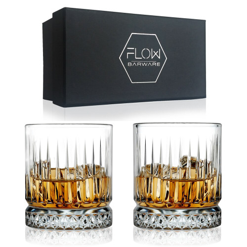 Geo Whisky Glasses Gift Set