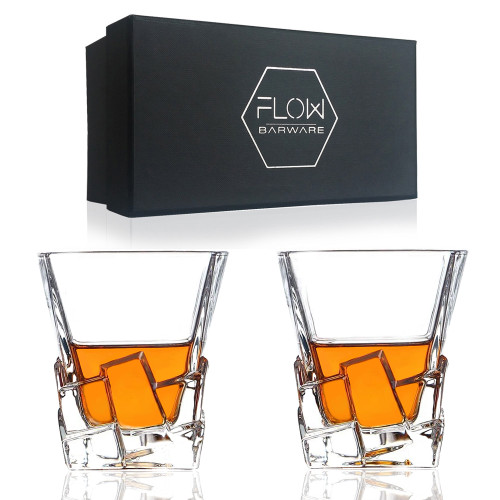 Ice berg Whisky Glasses by FLOW barware
