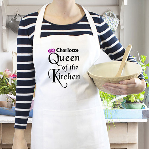 Personalised Kitchen Apron for Women