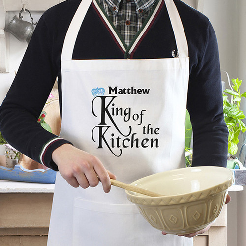 Personalised Mens Kitchen Apron