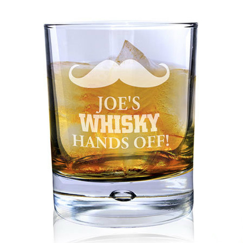 Moustache Whisky Glass