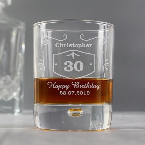 Personalised Jack Daniels Style Whisky Tumbler
