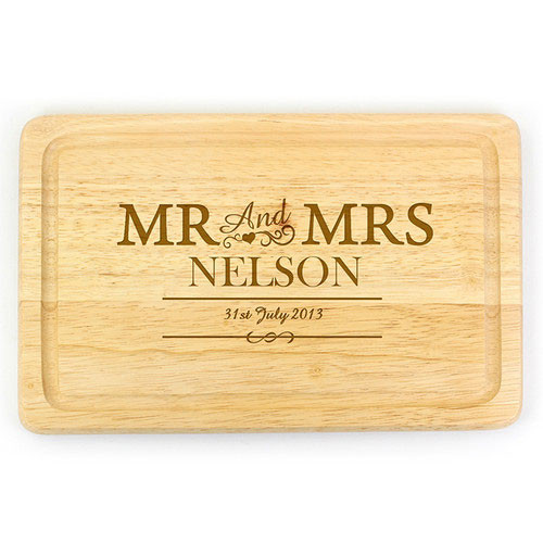 Personalised Rectangular Chopping Board