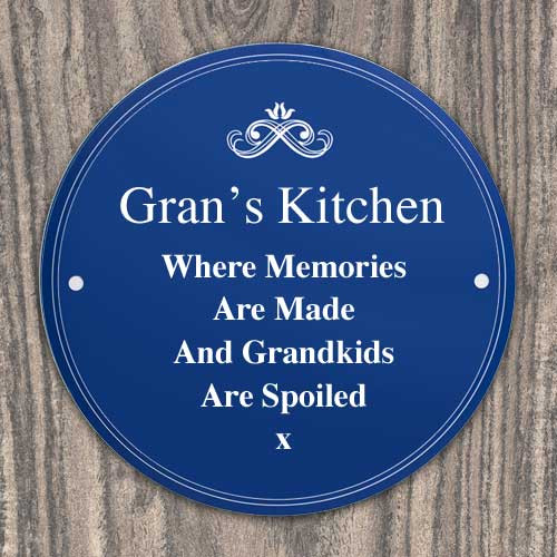 Engraved Heritage Plaque