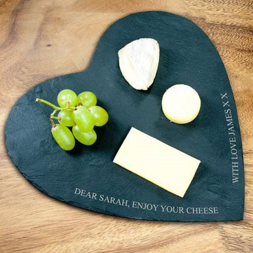 Natural Slate Cheese Board