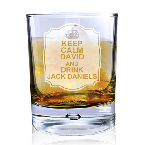 Drink Jack Daniels Whiskey Glass