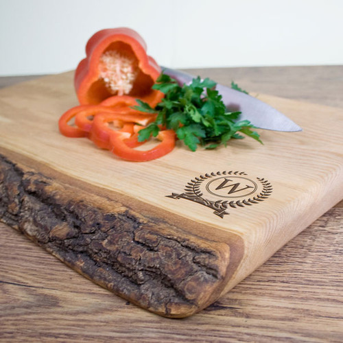 Personalised Rustic Welsh Ash Chopping Board
