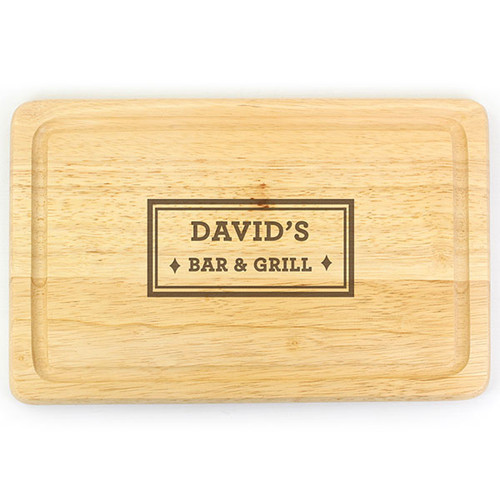 Bar & Grill Chopping Board