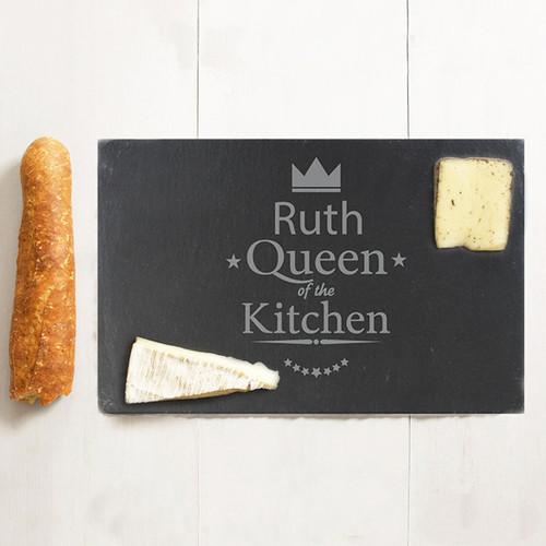 Personalised Slate Cheese Board