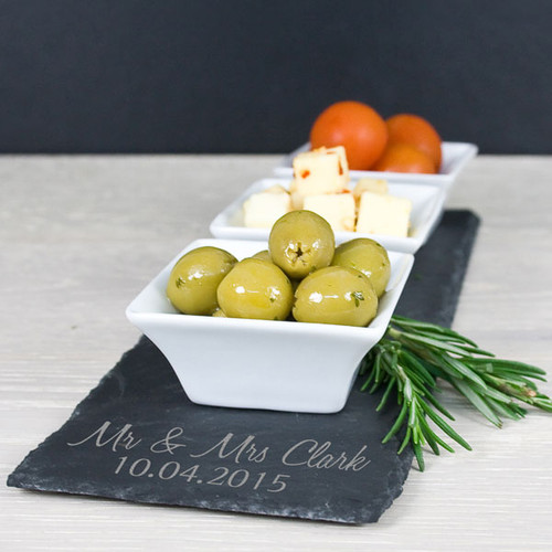 Personalised Slate Mezze Platter