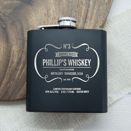 Personalised Whisky Hip Flask