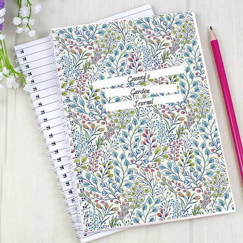 Gardening Botanical Notebook
