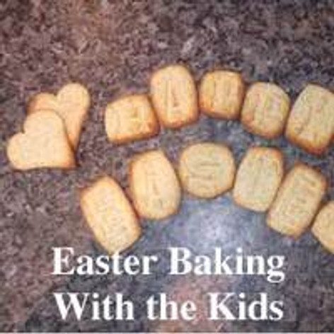 Easter Baking With the Kids