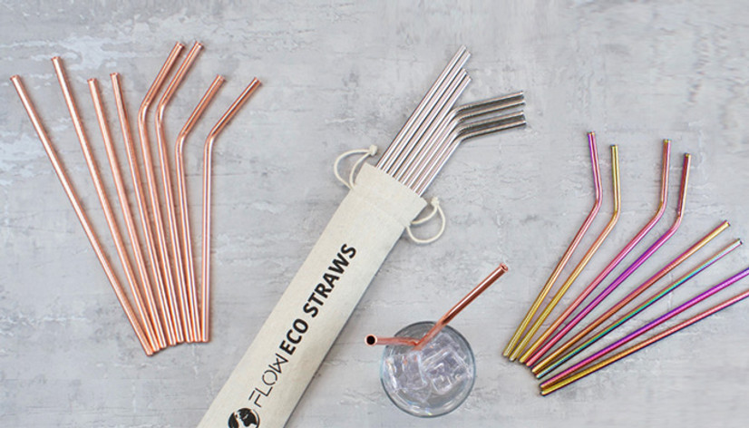 Metal Straws - The benefits of switching to reusable straws