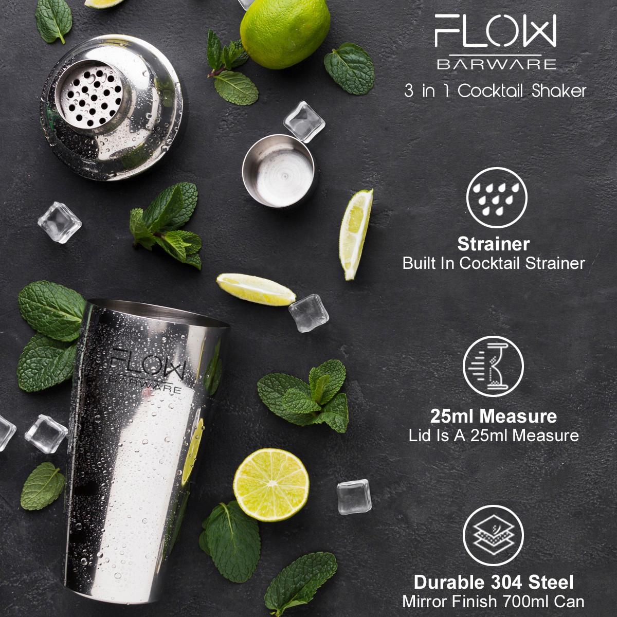 FLOW Cocktail Shaker