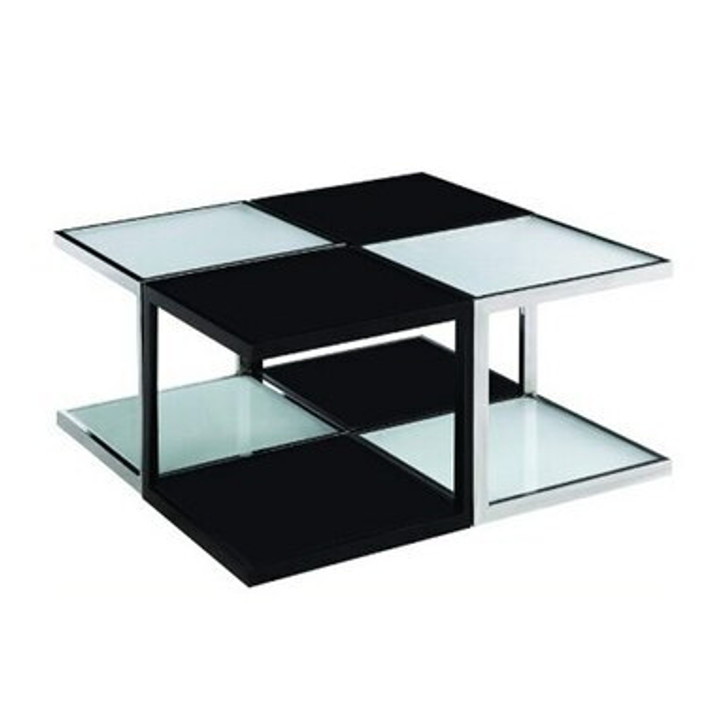 Black and White Occasional Coffee Table