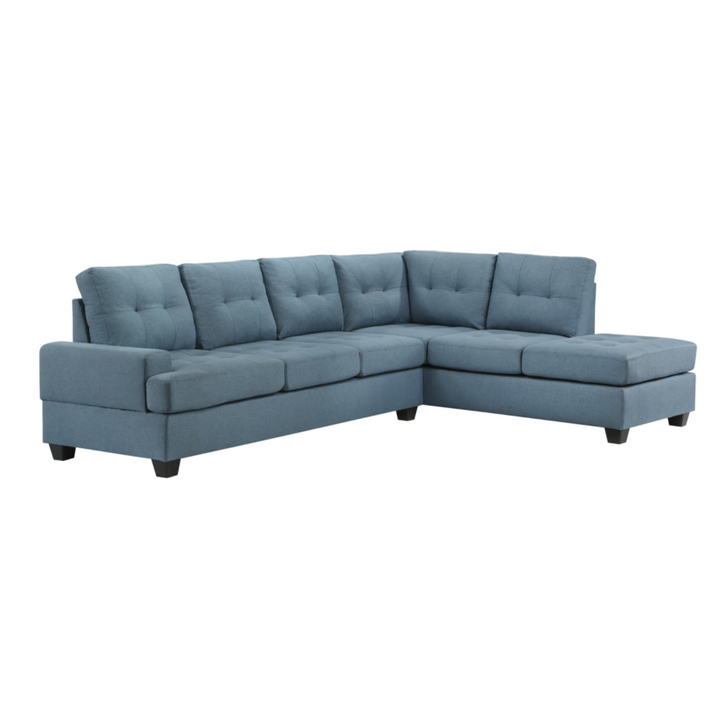Keyla 2 pc Sectional with Reversible Chaise