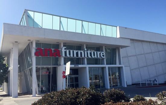 ana furniture store in San Mateo, California