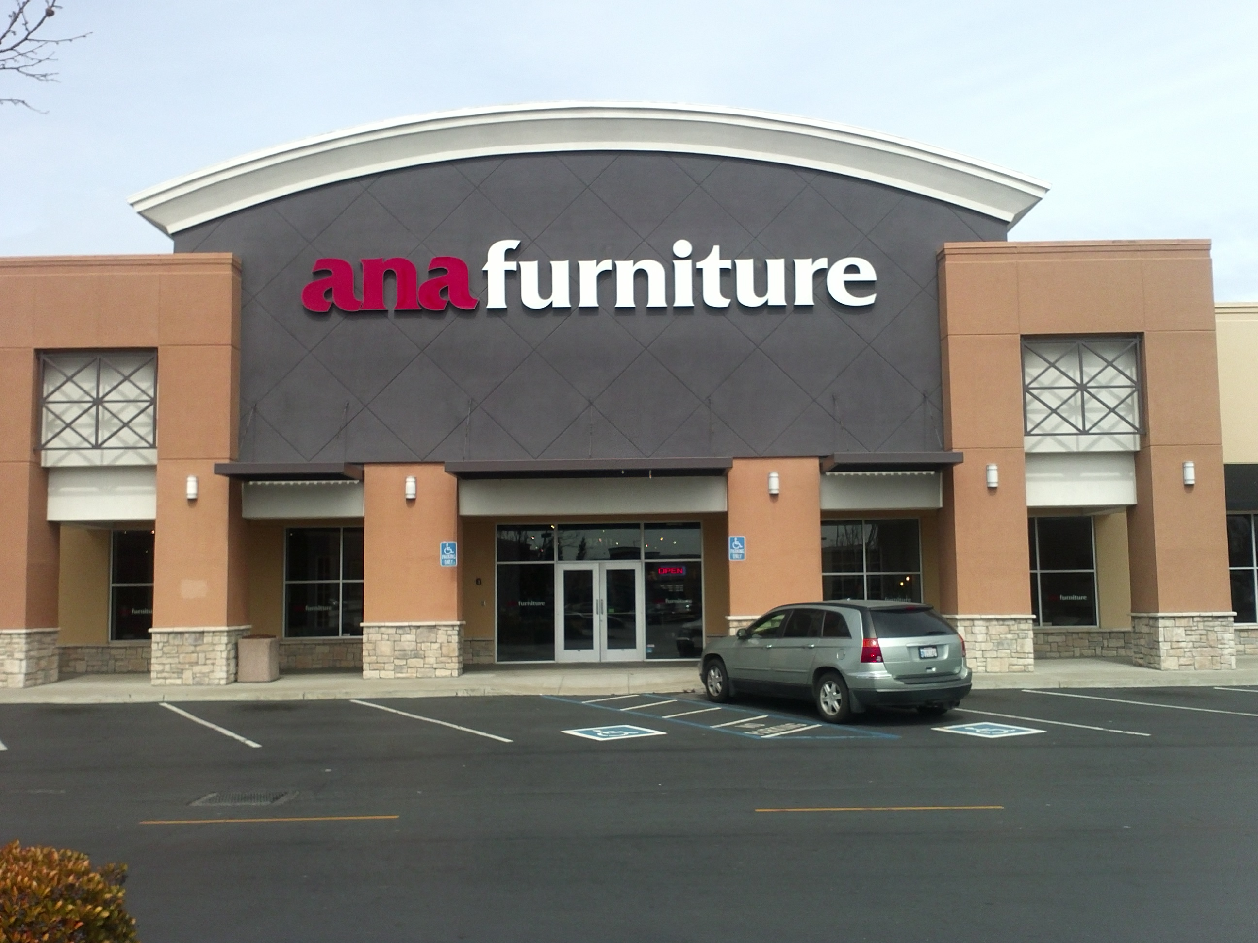 storefront and furniture showroom in Union city, California