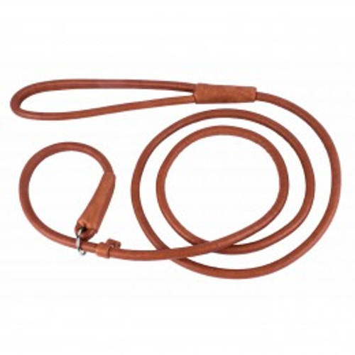 Soft Rolled Leather Slip Lead
