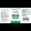 CBD Oil 60mL Tincture Drops - 1500mg