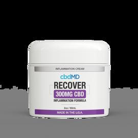 cbdMD Inflammation CBD Formula Cream - 2 oz Tubs