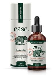 Earth Medicine MicroCBD Natural Droppers - Ease - Mint Flavor