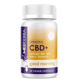 Medterra Good Morning Liposomal CBD+ Capsules