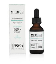 Medosi Whole Spectrum CBD Tinctures