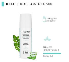 Medosi Relief Roll-On Gel 500